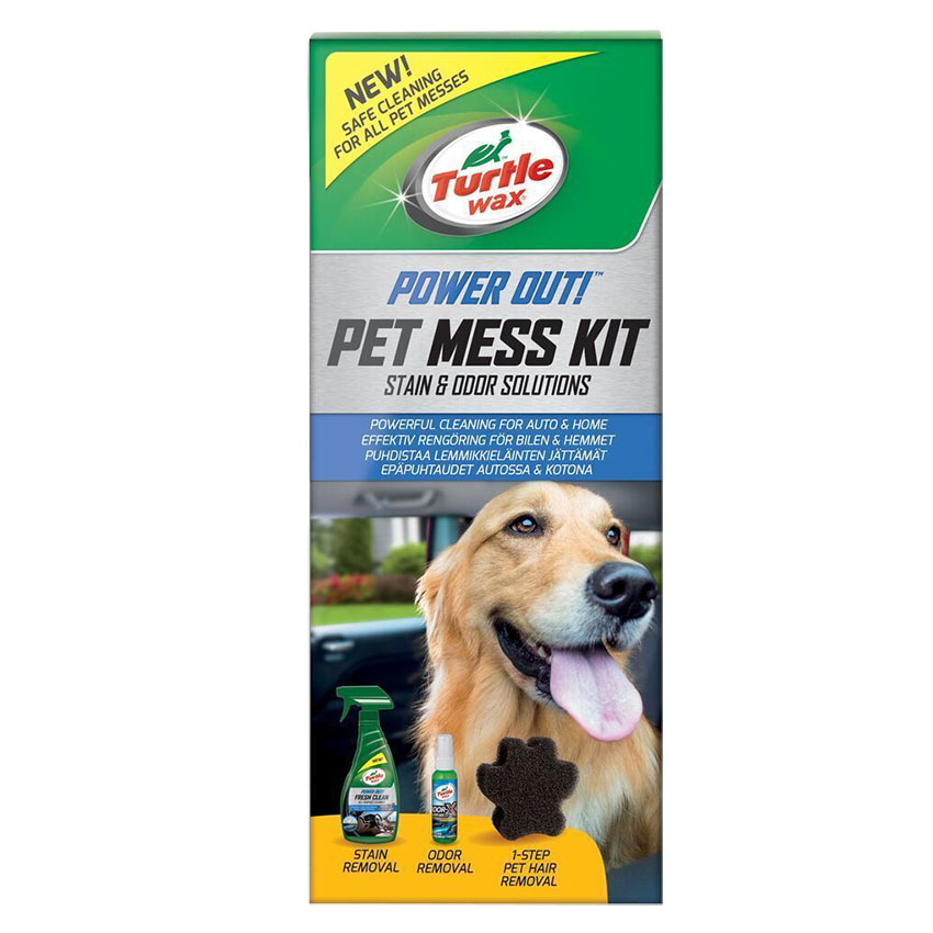 Turtle Wax Power Out! Pet Mess Kit