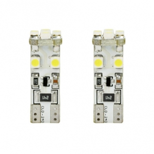 Λάμπες CANBUS T10 8 3528SMD White LED 12V 2τμχ.